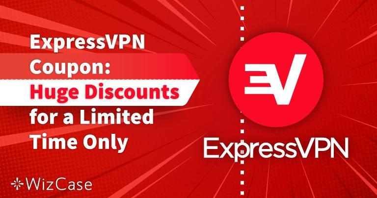 Cupon ExpressVPN valabil în 2021: Obțineți 49% reducere!
