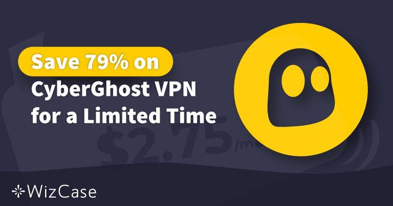 Cupon CyberGhost VPN valabil în 2020: Economisiți până la 79% chiar azi Wizcase